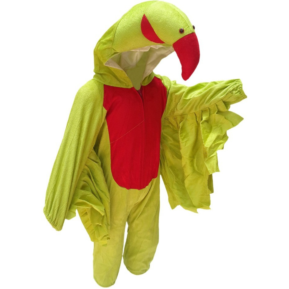 KFD Parrot fancy dress for kids,Bird Costume for School Annual function/Theme Party/Competition/Stage Shows Dress