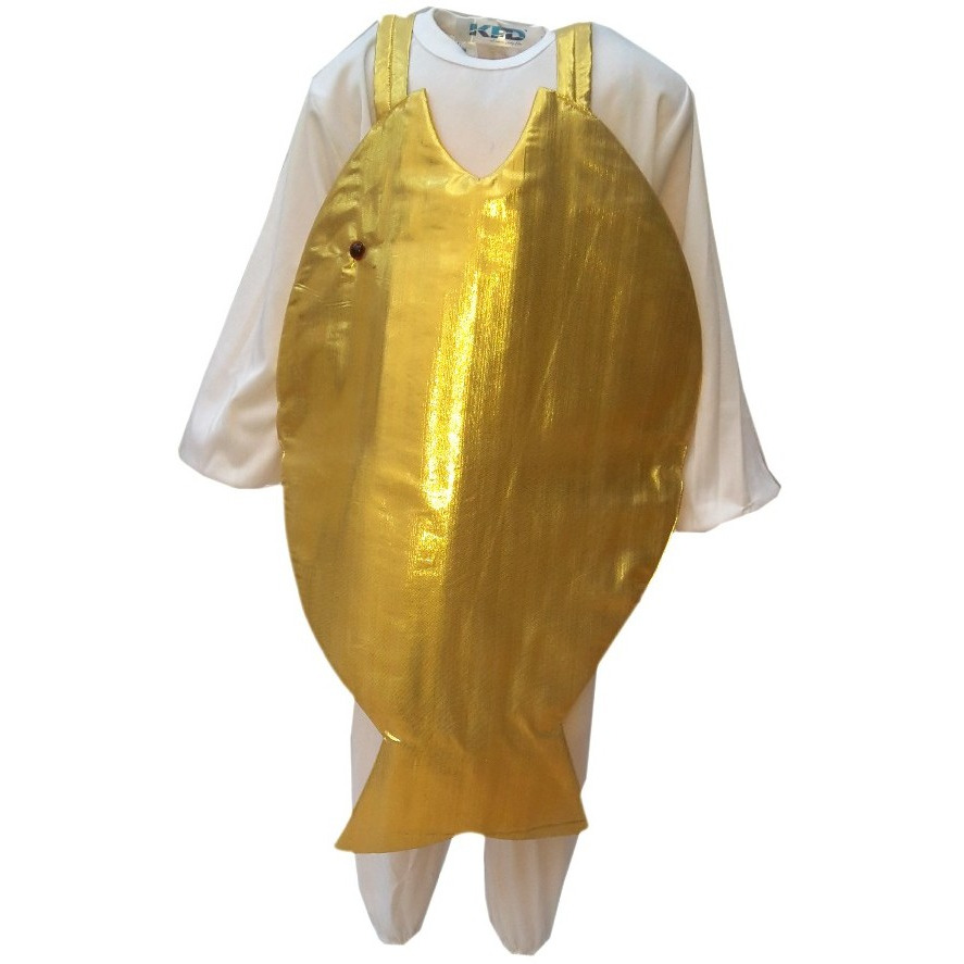 KFD Golden Fish fancy dress for kids,Insect Costume for School Annual function/Theme Party/Competition/Stage Shows Dress