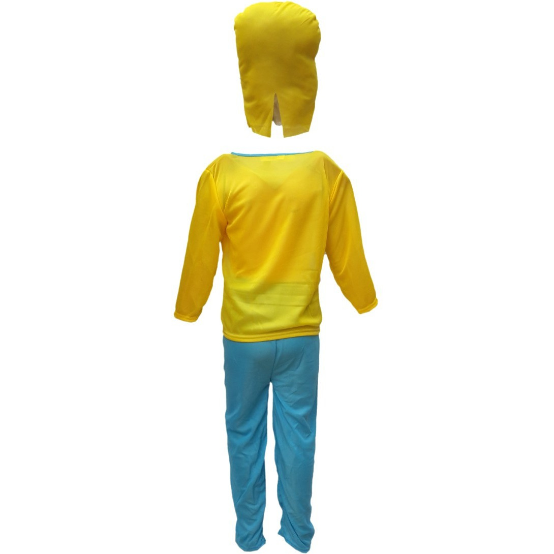 KFD Minnion Fancy dress for kids,Diseny Cartoon Costume for Annual function/Theme Party/Stage Shows/Competition/Birthday Party Dress