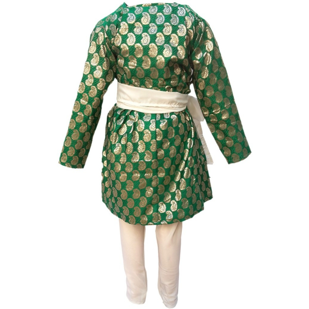 KFD Gujrati Boy Red Color fancy dress for kids,Indian State Traditional Wear for Annual function/Theme party/Competition/Stage Shows Dress