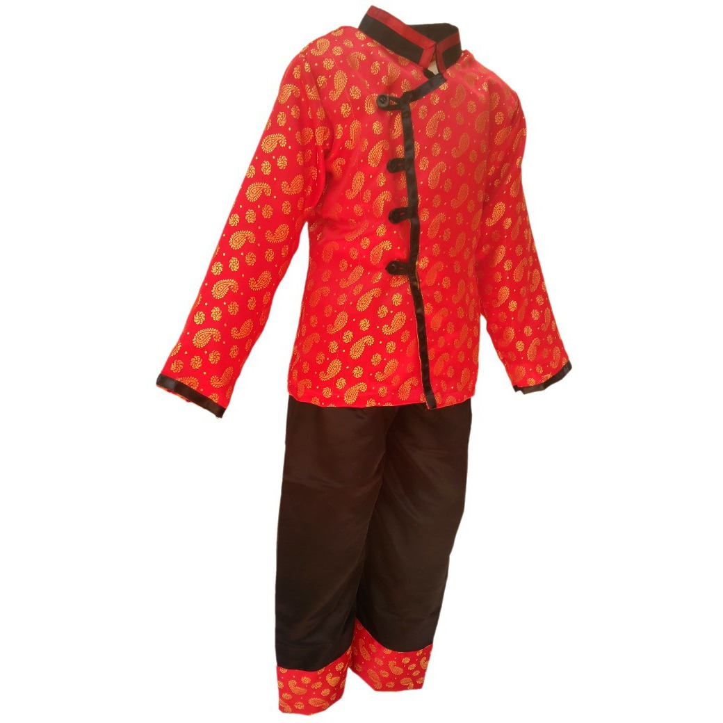 KFD Chinese Boy Traditional Wear fancy dress for kids,Global Costume for Annual function/Theme Party/Competition/Stage Shows Dress