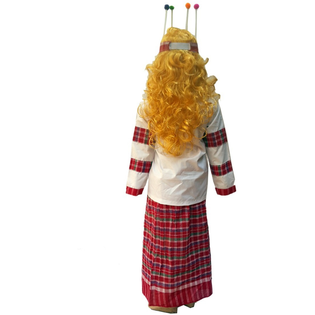KFD Mizoram Girl fancy dress for kids,Indian State Traditional Wear for Annual function/Theme Party/Competition/Stage Shows/Birthday Party Dress