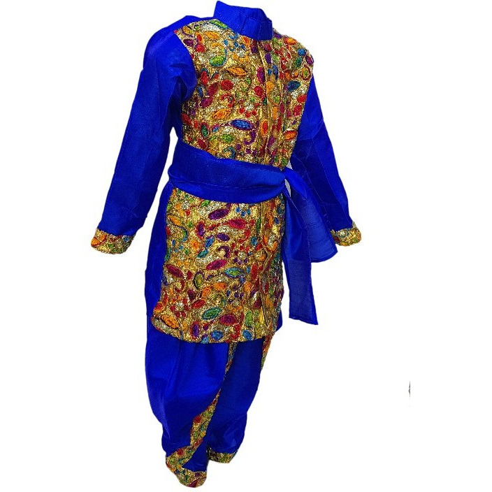 Kaku Fancy Dresses Anarkali Indian State/Dance Costume For Kids
