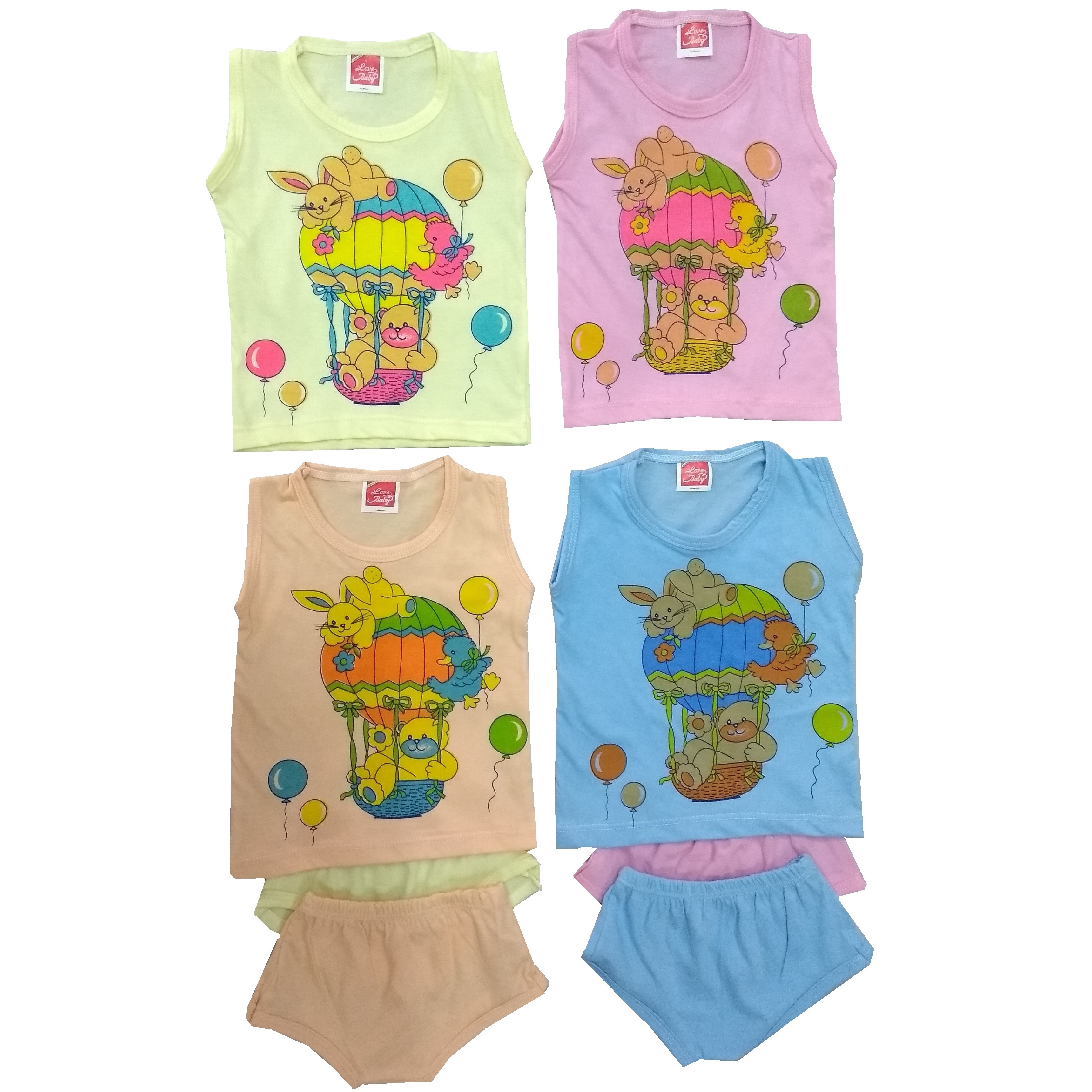 Love Baby Organic Clothing Ink Combo Set - BC14