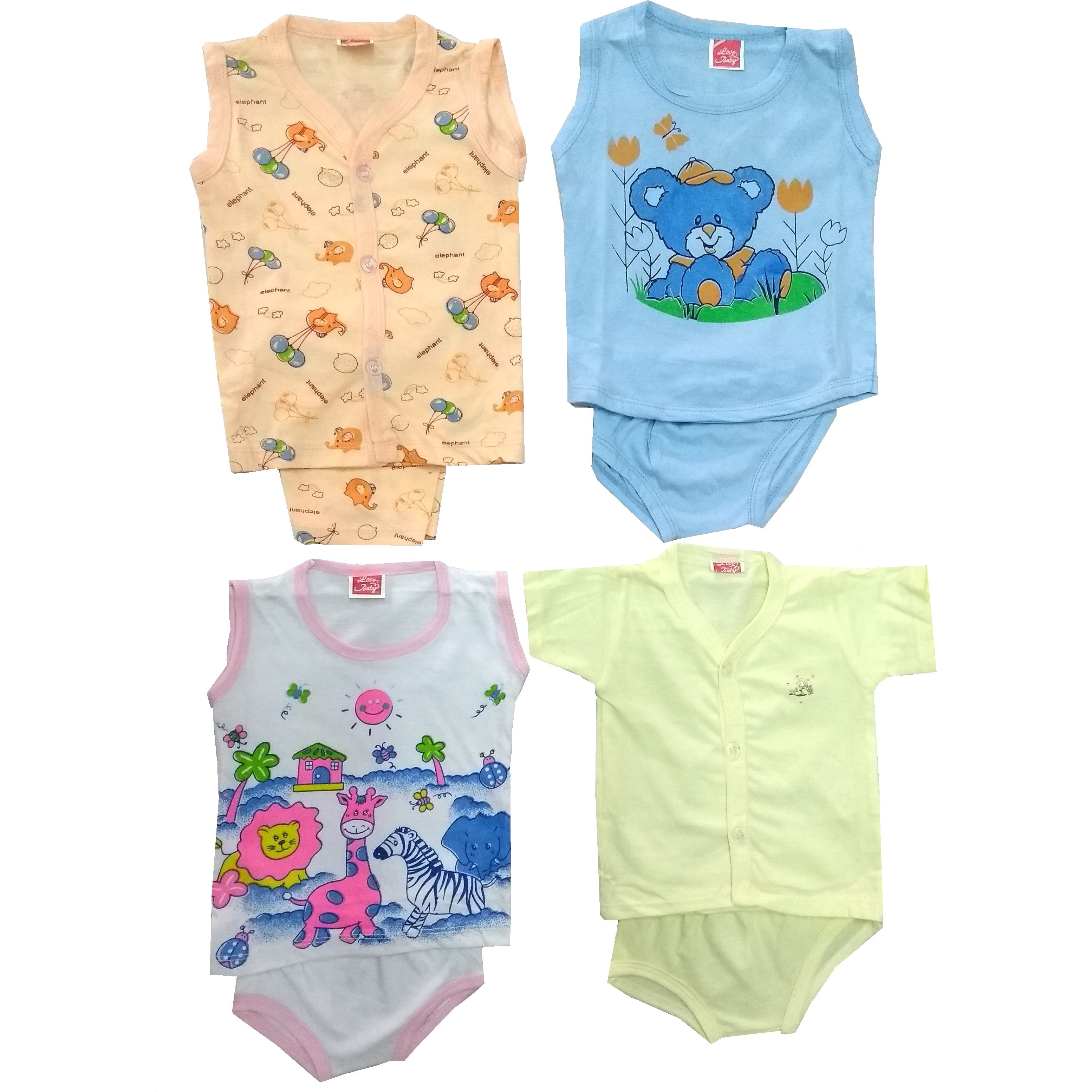 Love Baby Organic Clothing Ink Combo Set - BC17