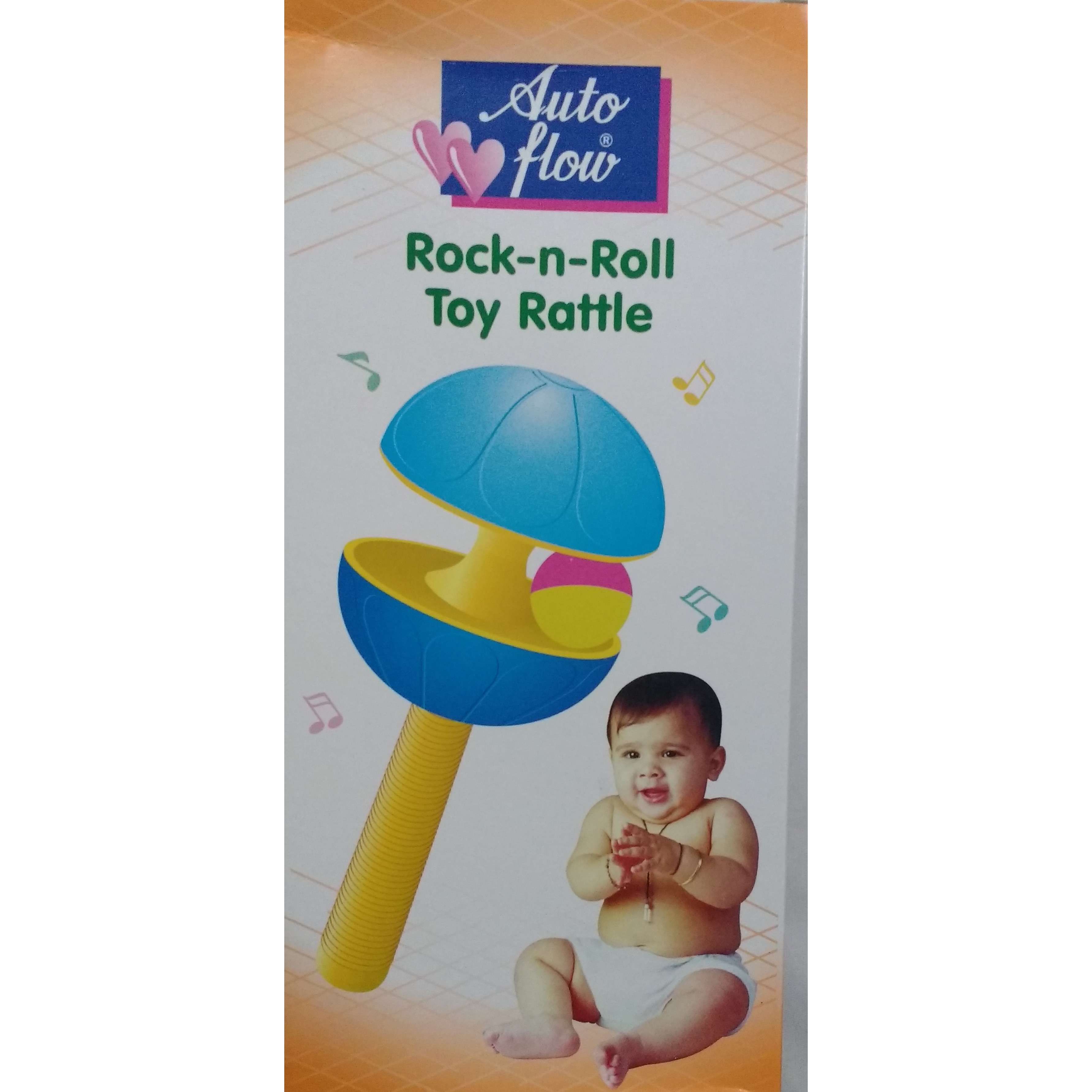 Auto Flow Rattle Toy - Rock-N-Roll - BT23 Combo Pink