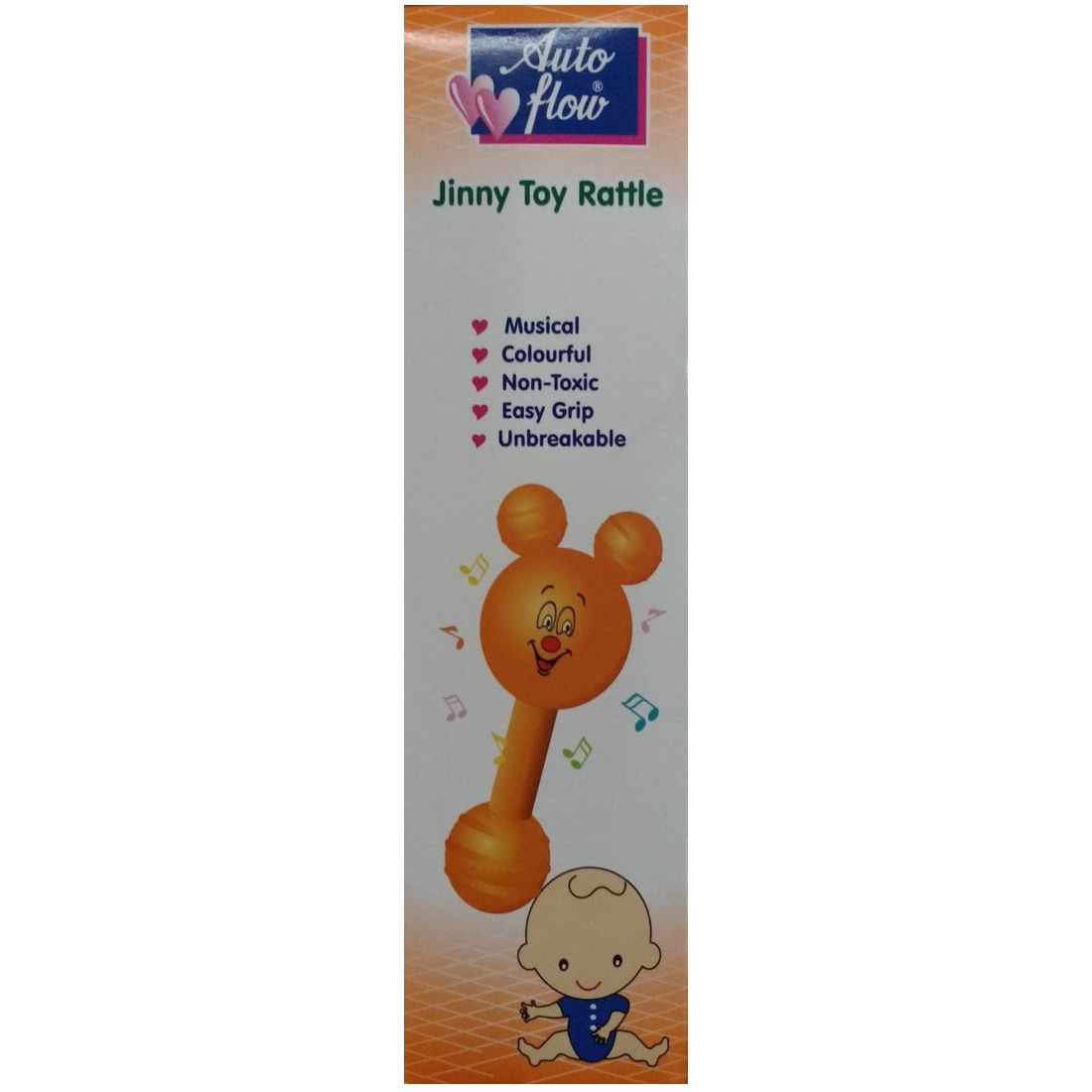 Auto Flow Rattle Toy - Jinny Toy - BT27 Combo Green