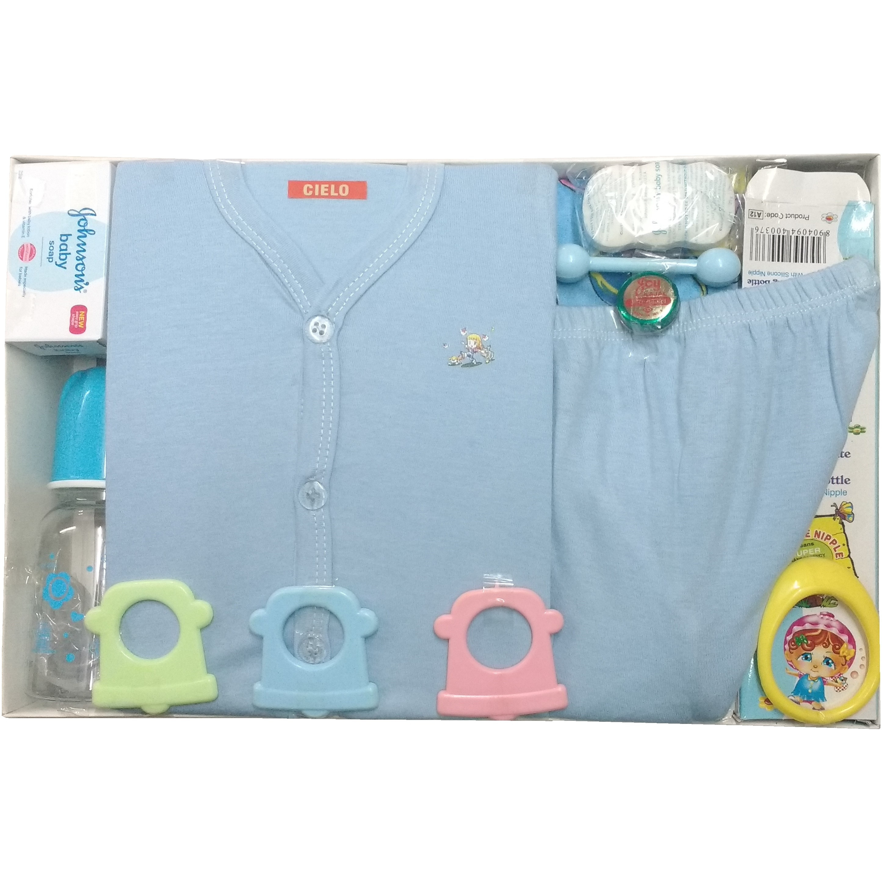 Love Baby Gift Set - Cielo Blue