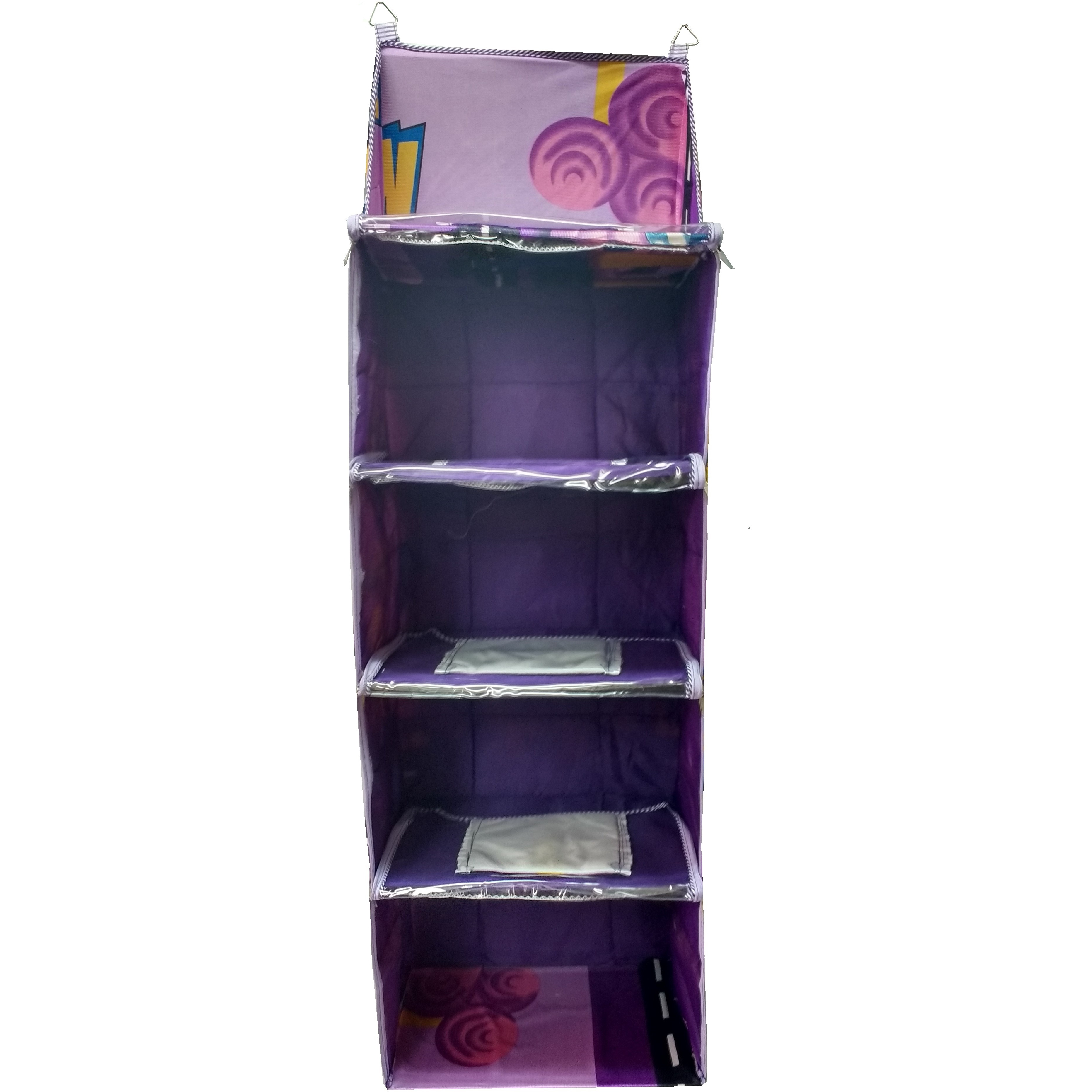 Love Baby Collapsible Cupboard 4 Step - DKBC07 Purple