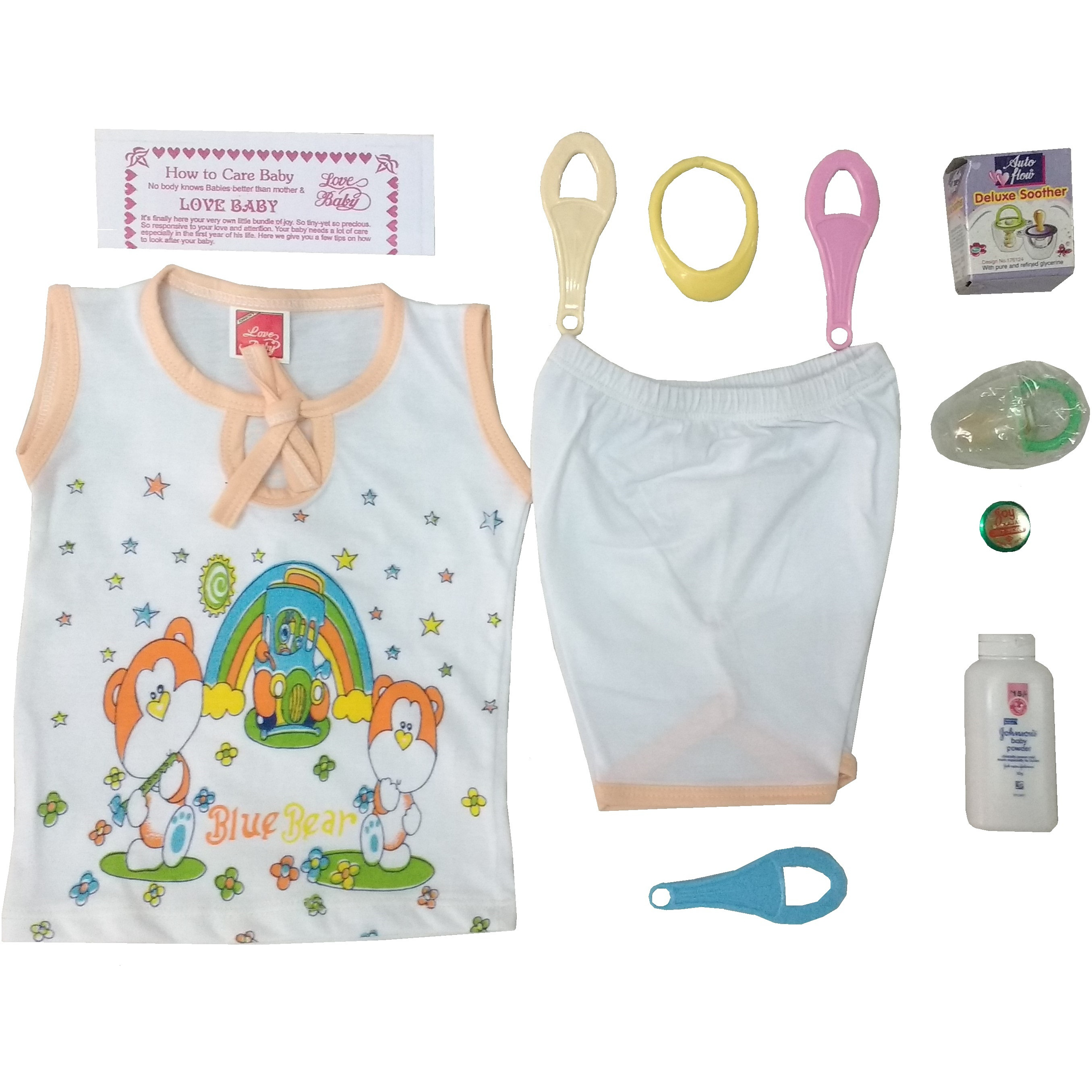 Love Baby Gift Set - King corner Peach