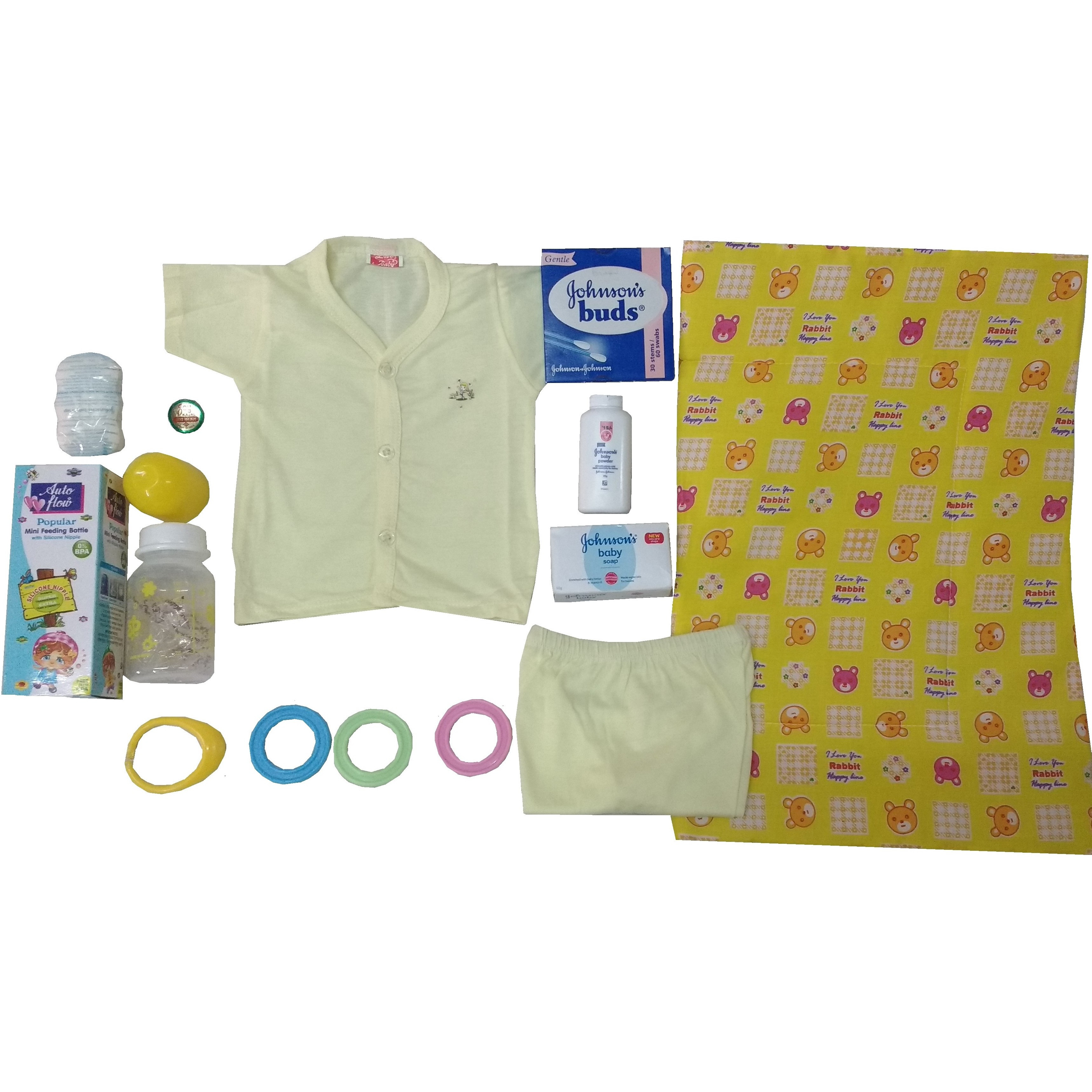 Love Baby Gift Set -Lemon Drop Yellow