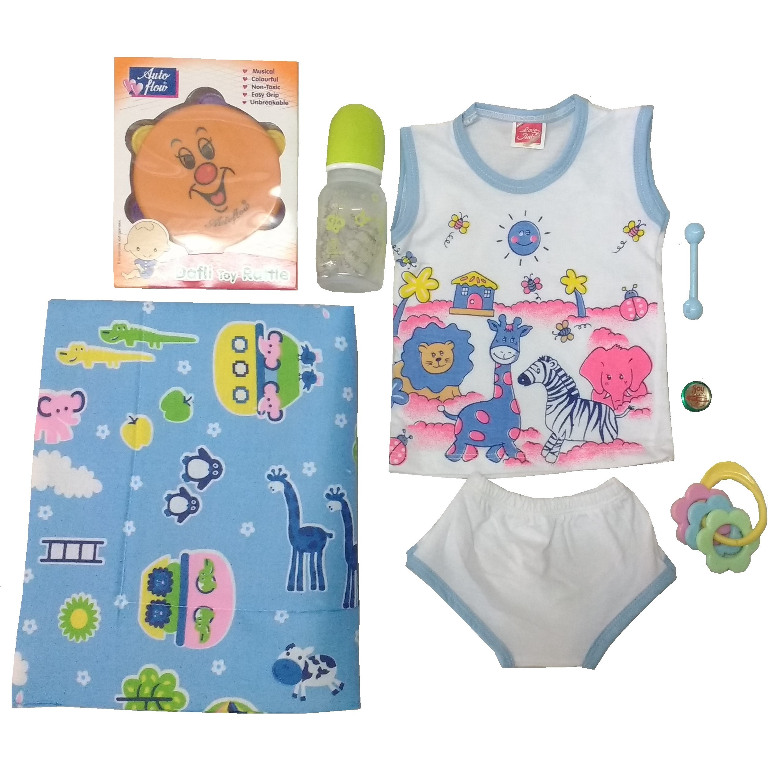 Love Baby Gift Set - Motherkiss Blue