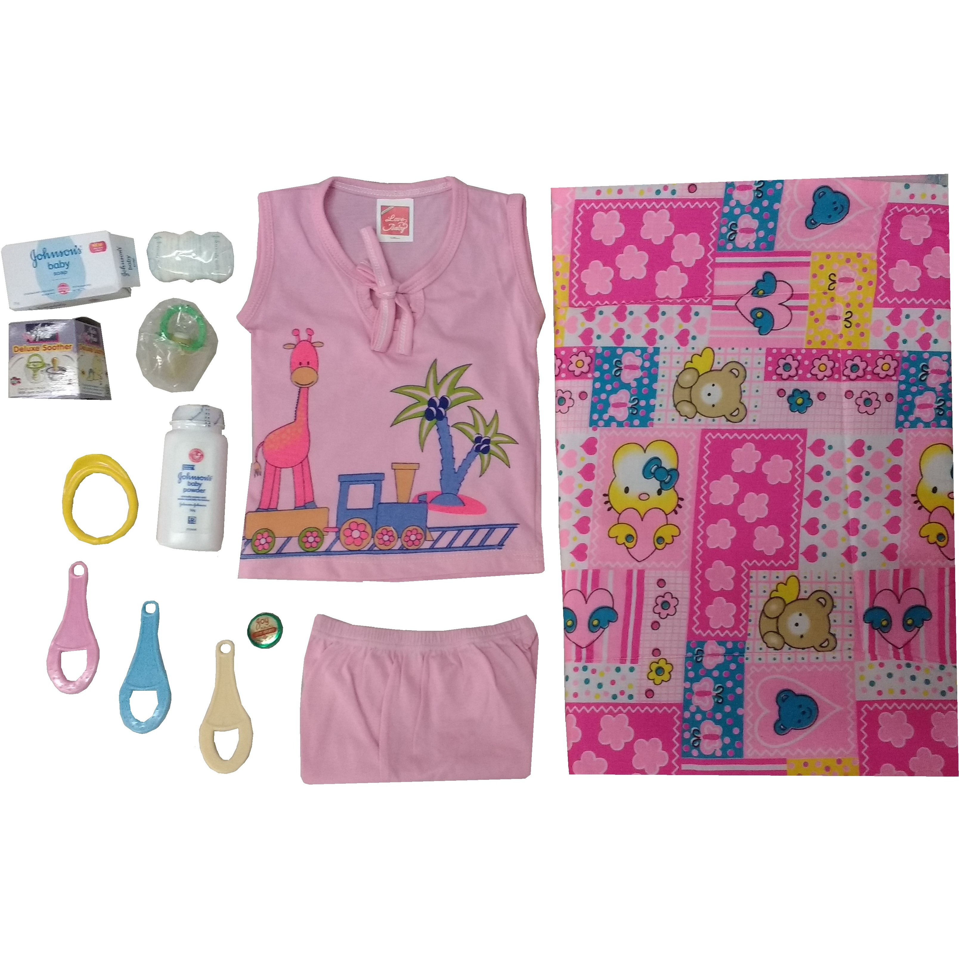 Love Baby Gift Set - Pinky Pink