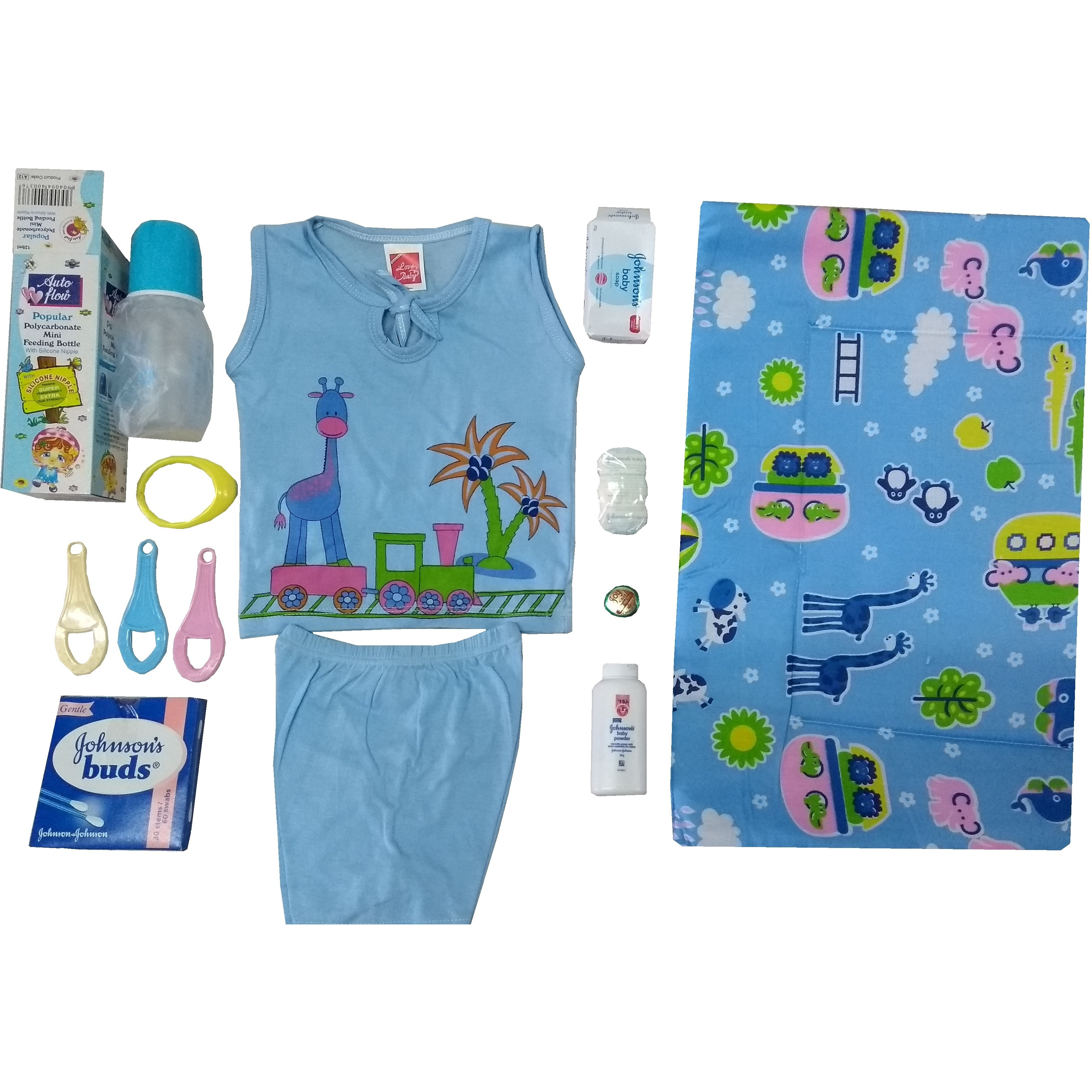 Love Baby Gift Set - Simran Blue