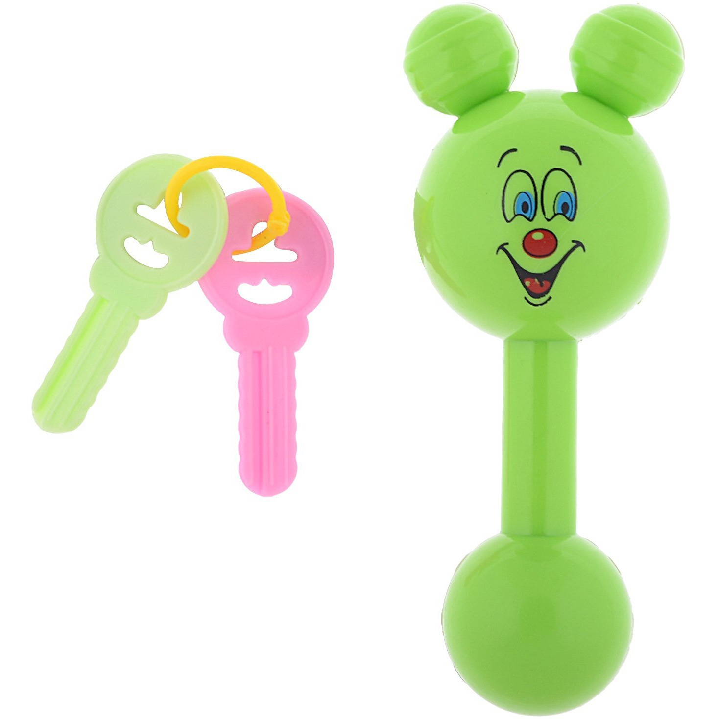 Auto Flow Rattle Toy - Jinny Toy - BT27 Green