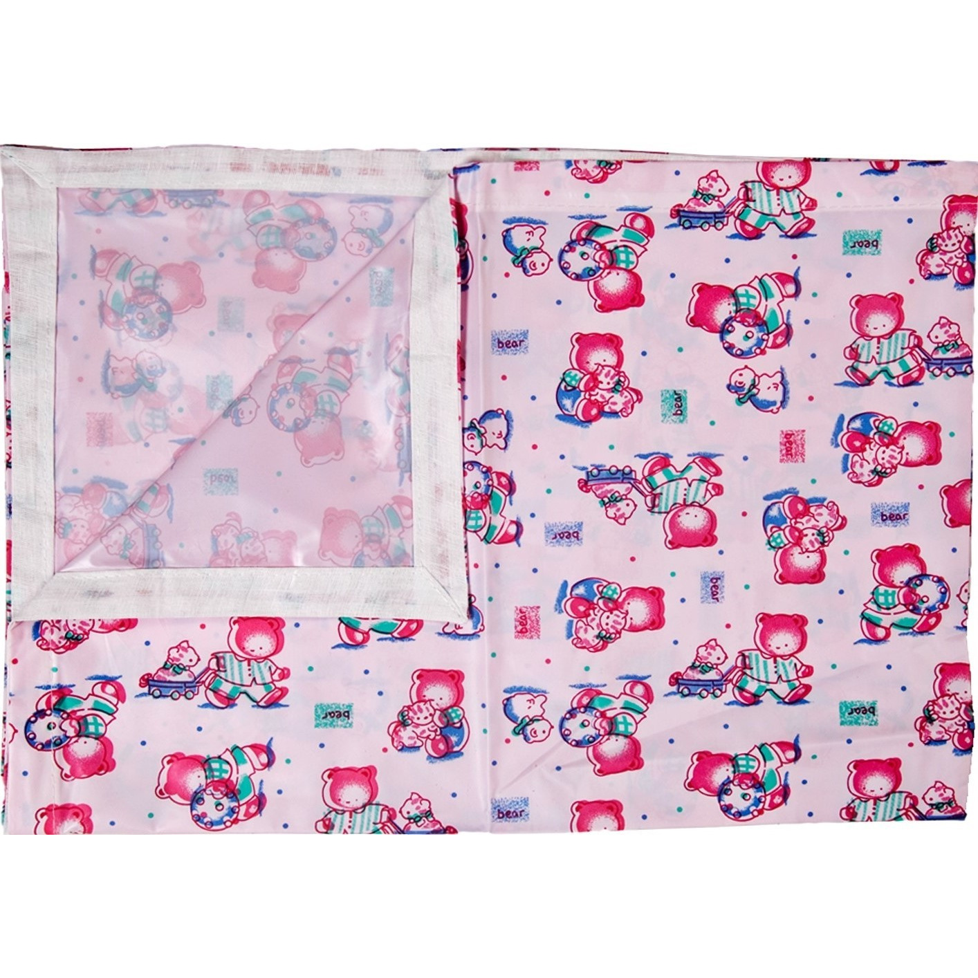 Love Baby Soft Bed Sheet Plastic - 613 A Pink