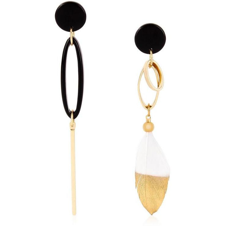 drop garmentory ortiz earrings mismatch new sale luz lumina york