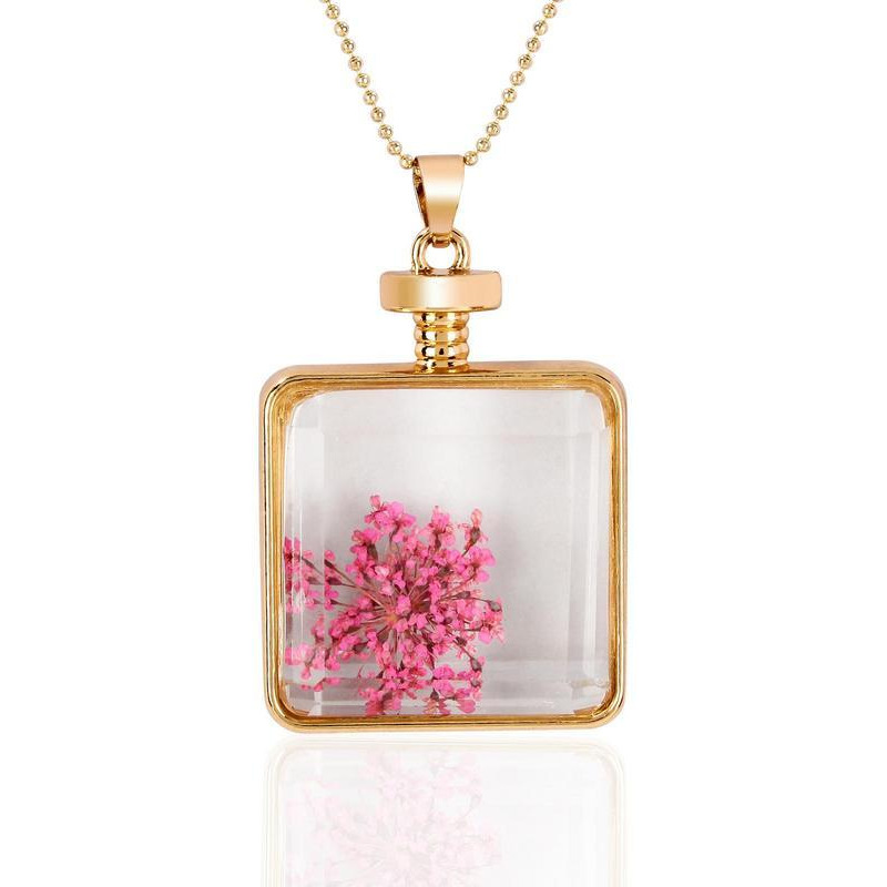 Eternal Beauty Miniature Flowers in a Bottle, 18-carat gold-plated