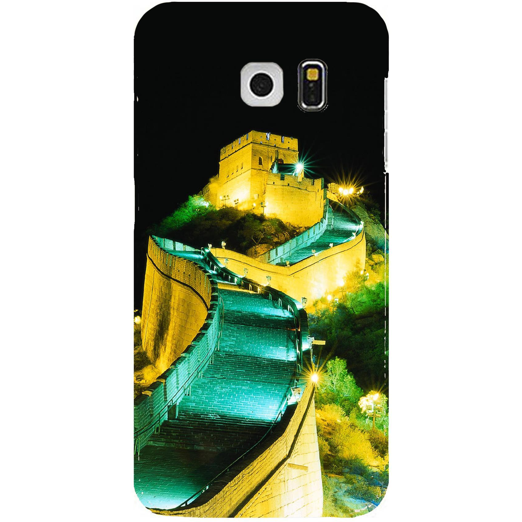 High Quality Printed Designer Back Cover Compatible For Samsung Galaxy S6 Edge