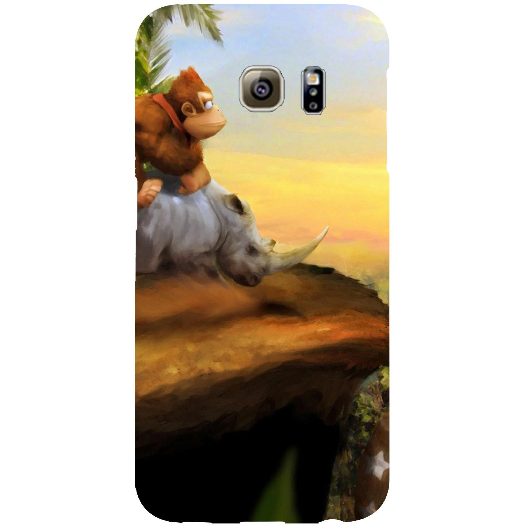 High Quality Printed Designer Back Cover Compatible For Samsung Galaxy S6