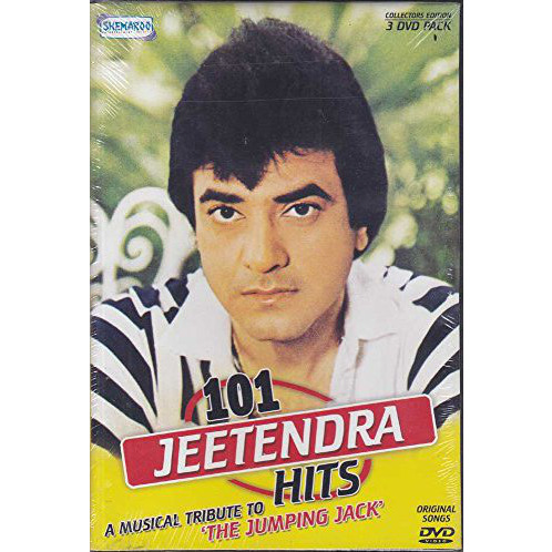 101 Jeetendra Hits - A Musical Tribute To 'The Jumping Jack' (3-DVD Set / Original Videos Of Hindi Film Songs)