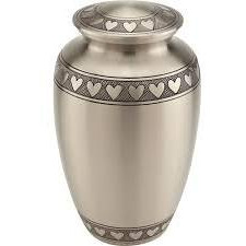 Royal Memorial  Brass  Classic Stunning Brass Pewter Cremation Urn.