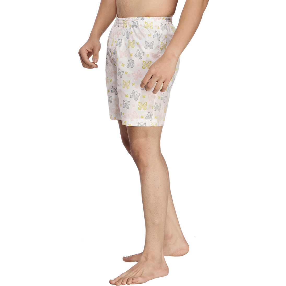 Multicoloured Printed Boxer (Size:XL)