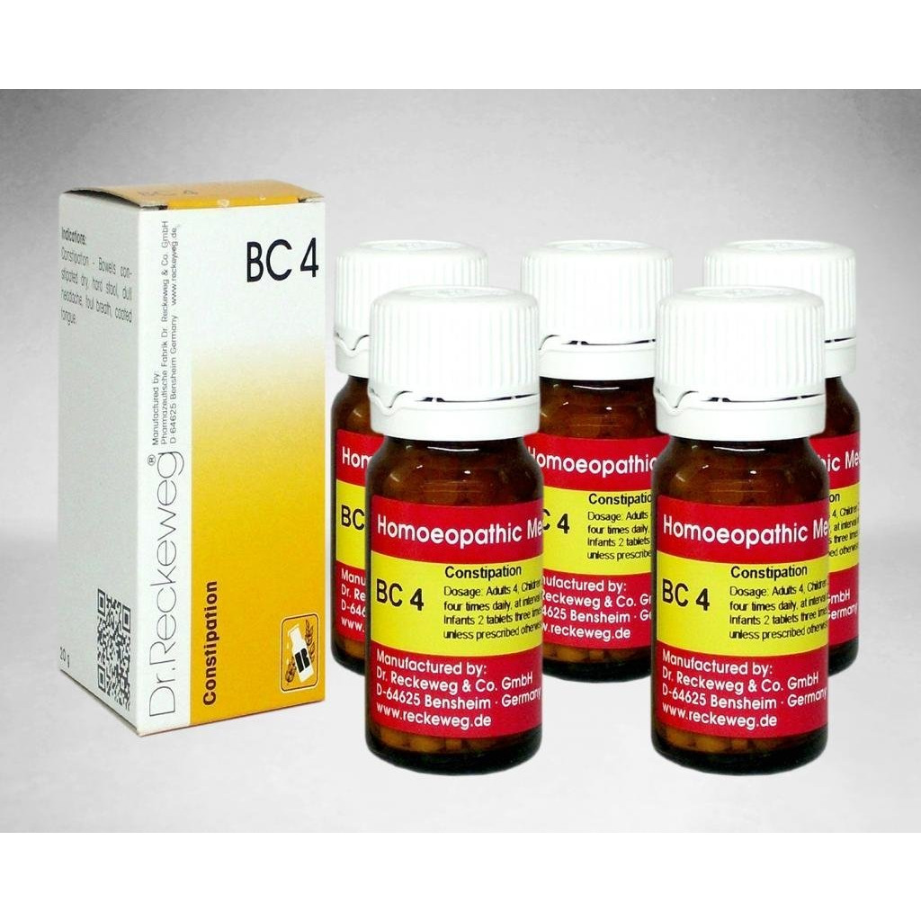Dr.Reckeweg Germany Biochemic Combination Tablet Bc 04 Pack Of 5