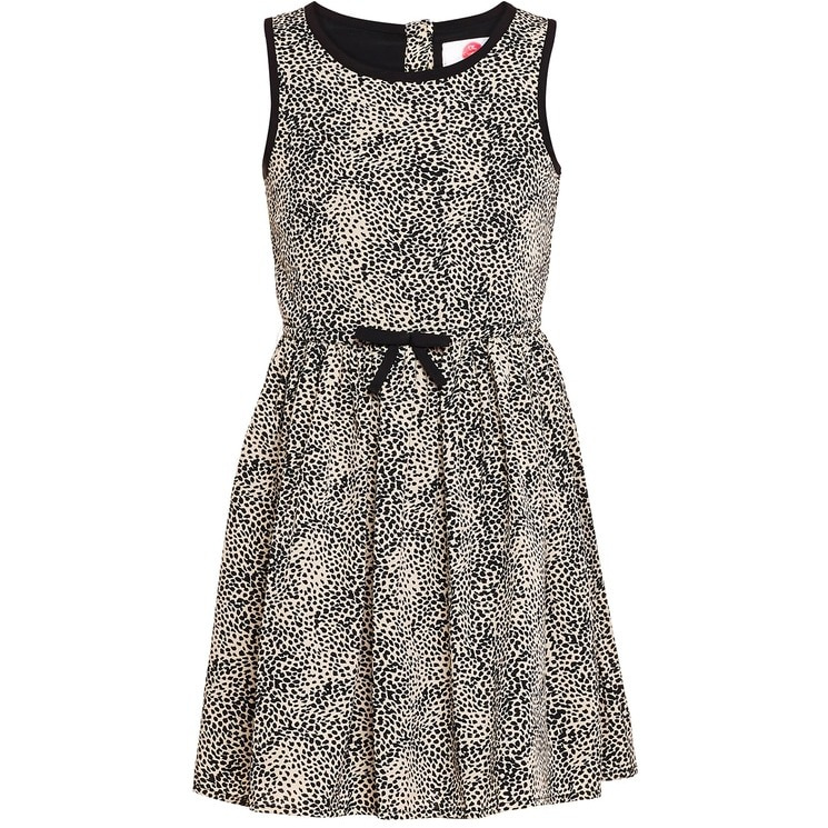 The Cranberry Club Leopard Print Dress (Size:18-24 MONTHS)