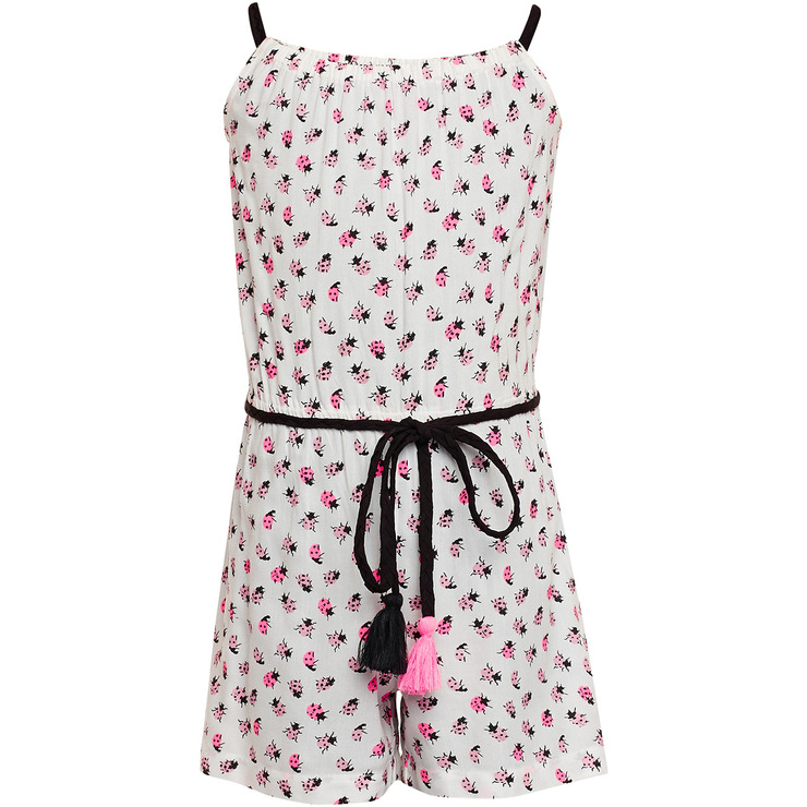 The Cranberry Club Bug Printed Jumpsuit Dress (Size:2-3 YEARS)