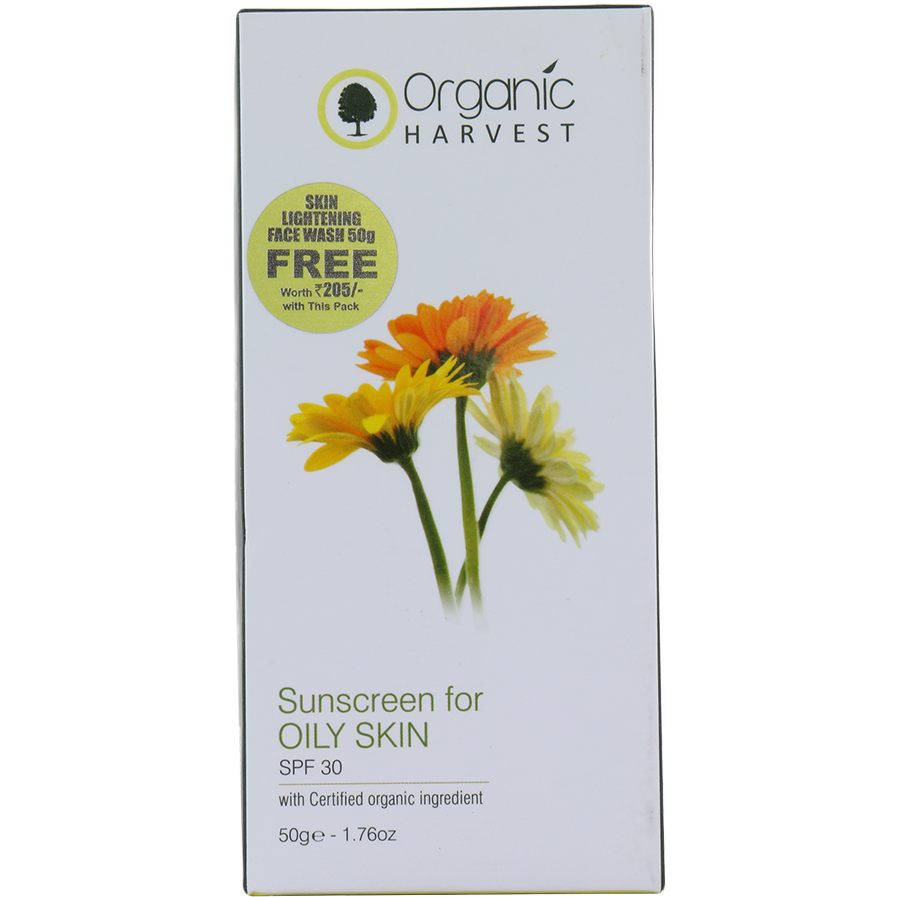 Organic Hervest Oil Control Sunscreen SPF(50GM) For Externaly use Only