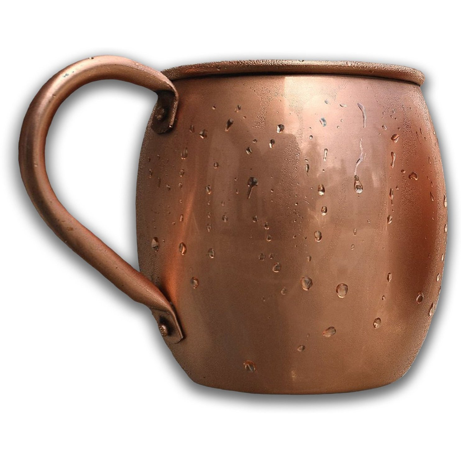 Winmaarc 100% Pure Copper Solid Copper Moscow Mule Mug 16 OZ