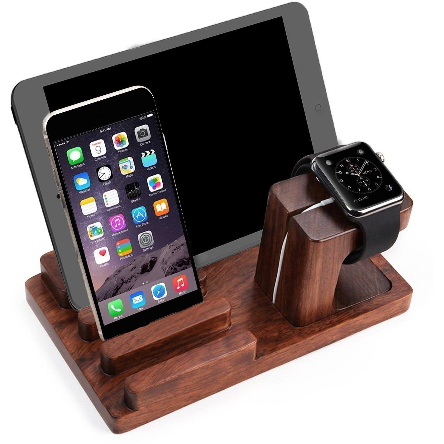 518850bf5 Buy Online Winmaarc Wooden Phone Charging Station Dock