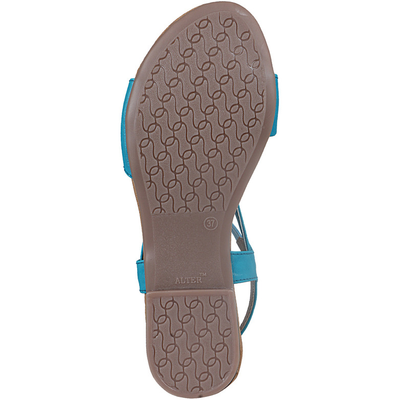 Style Buy Style Blue Flat Casual Fashionable Sandal For Women