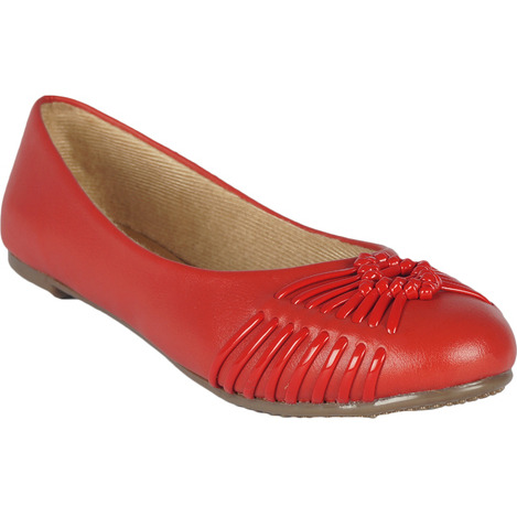 Style Buy Style Flat Red Bellies For Women