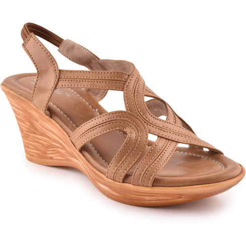 Style Buy Style Tan Casual Fashionable Sandal For Women