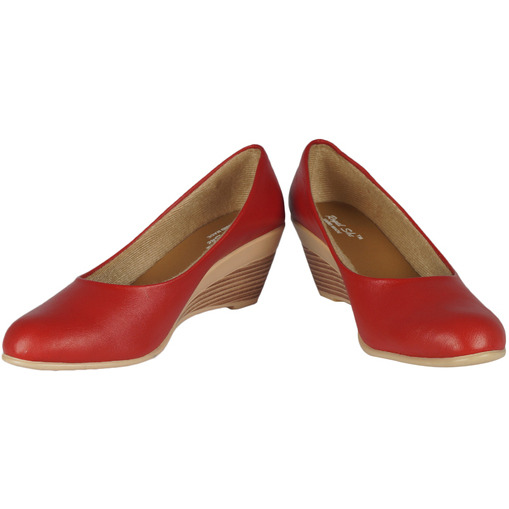 Style Buy Style Red Low Heel Bellies For Women
