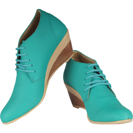 Style Buy Style Green Lace Shoes For Women