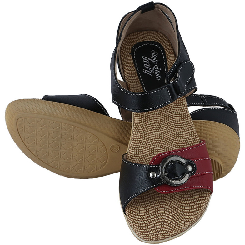 Style Buy Style Black Casual Casual Fashionable Sandal For WomenS