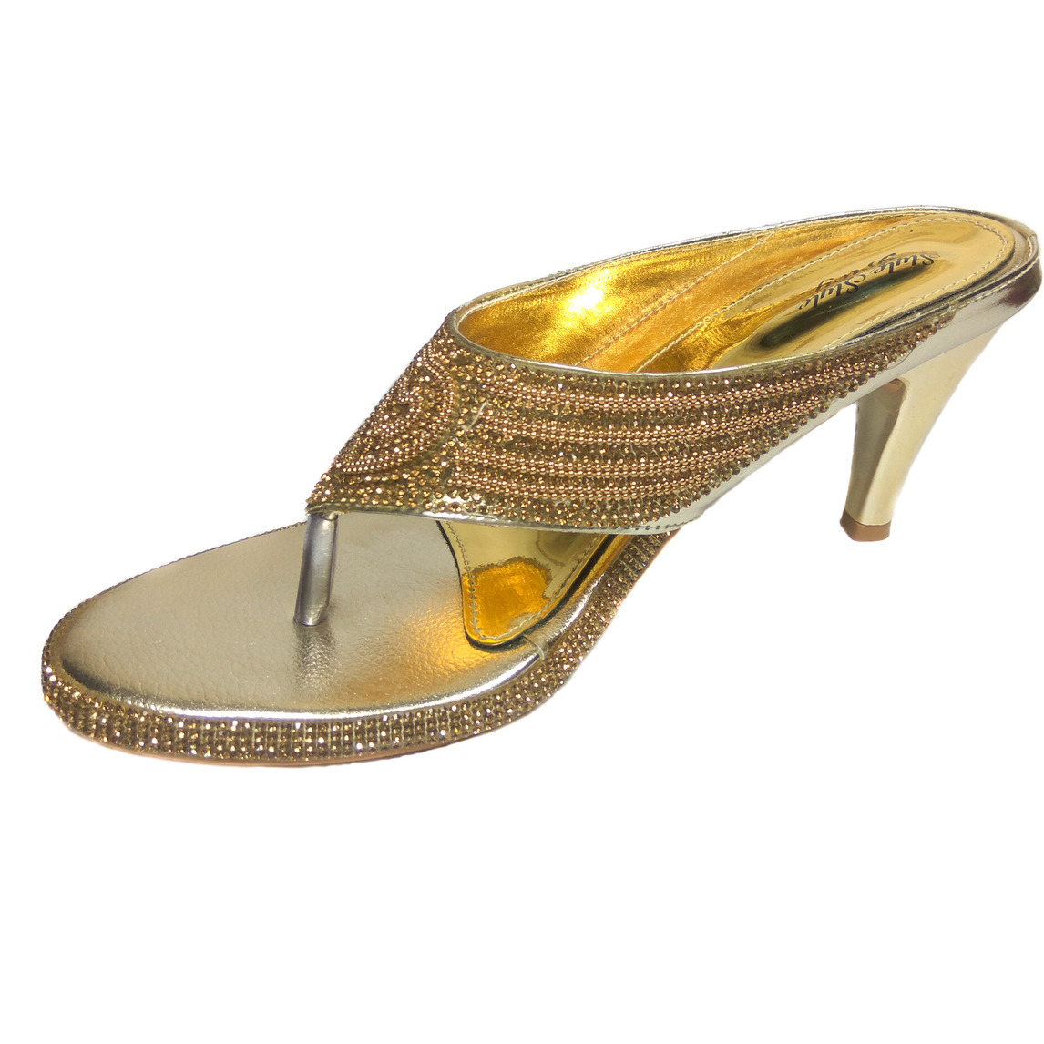 Style Buy Style Gold Weddling Heels For Women