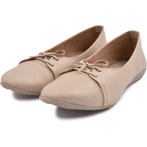Style Buy Style Cream Flat Bellies For Women