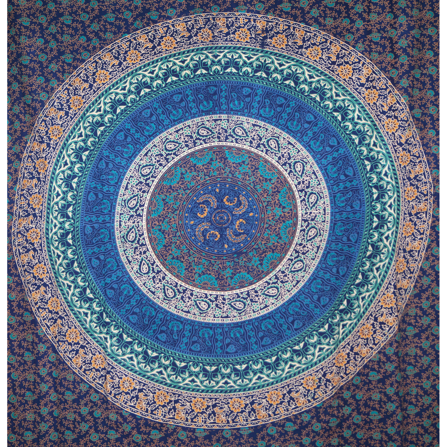 Indian Queen Mandala Tapestry Hippie Wall Hanging Throw Bohemian Bedspread Decor