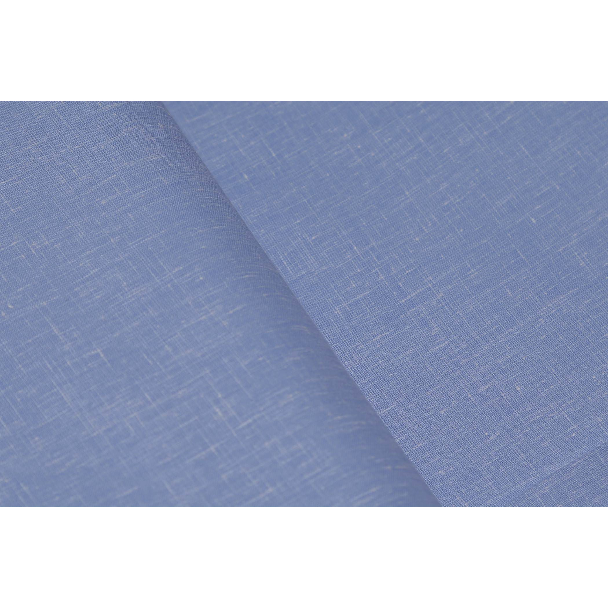Sojanya (Since 1958)B 2.25 Metres Cotton Blend Shirt Fabric Solid Fine Quality