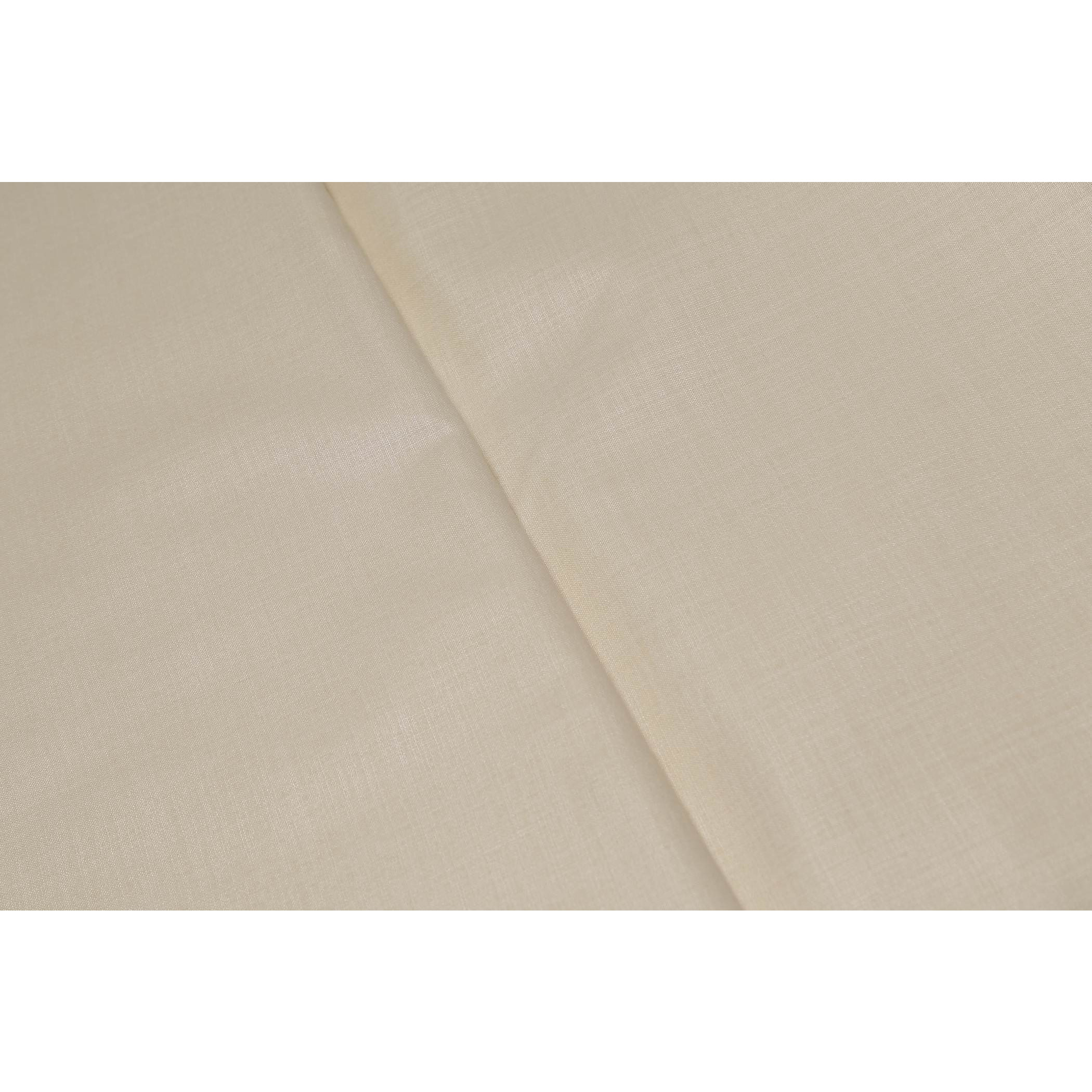 Sojanya (Since 1958)B 5 Metres Cotton Blend Shirt Fabric Solid Fine Quality