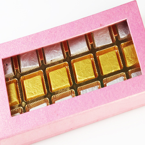 Pink Assorted Chocolate Box