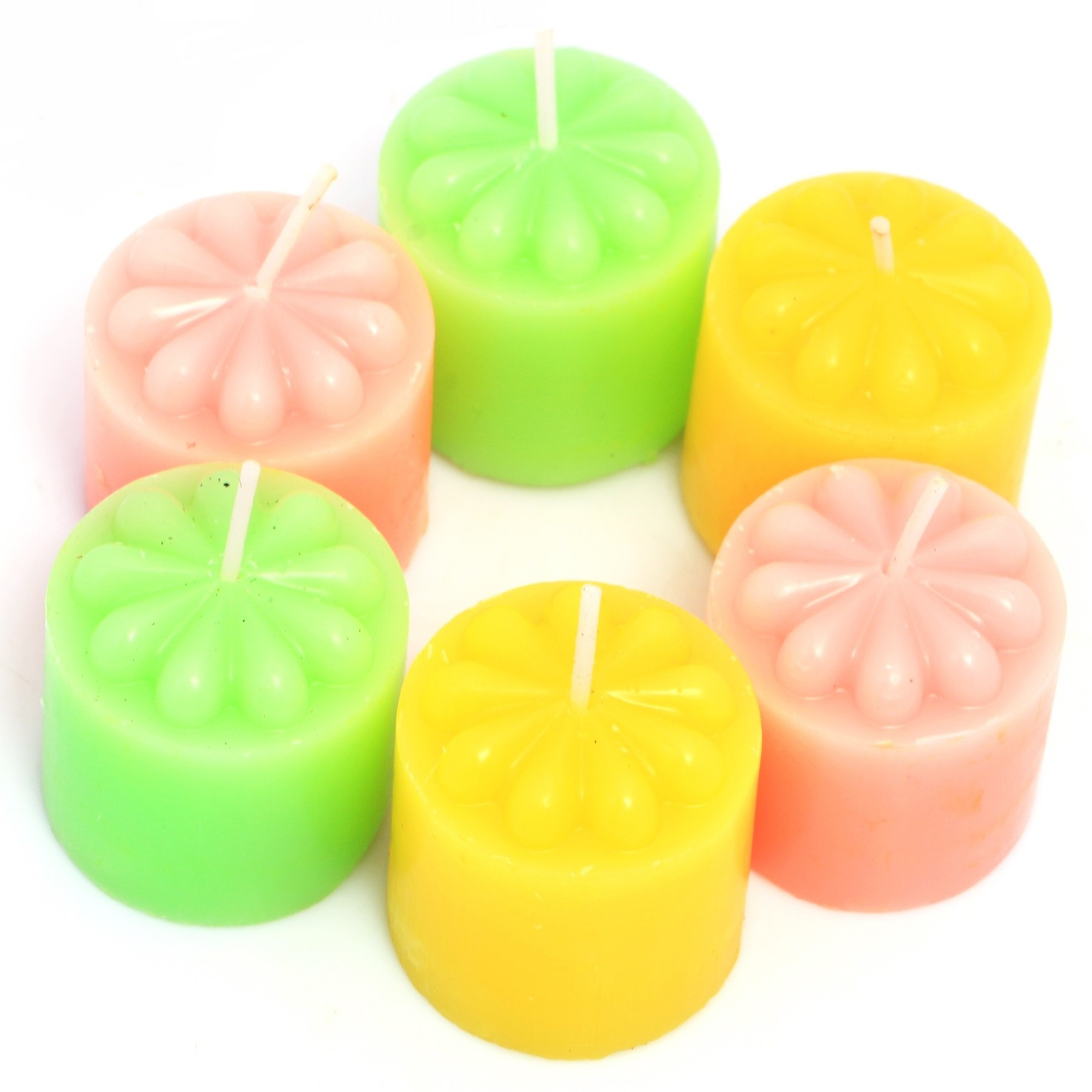 Candles Set Of 6 Scented Candles