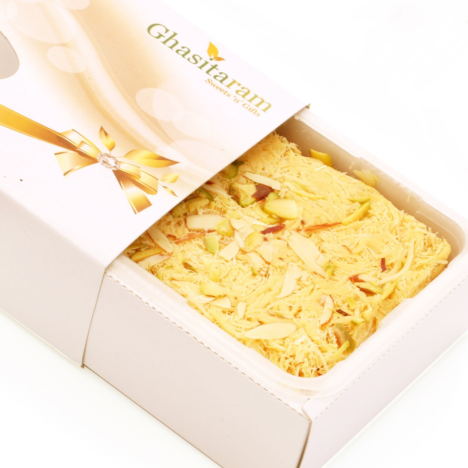 Ghasitaram Gifts Sweets - Butter Scotch Soan Papdi 800 Gms