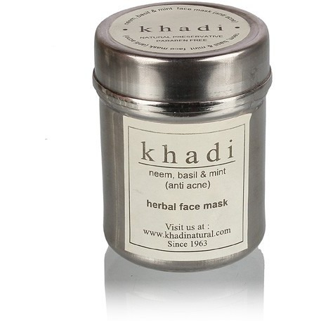 Khadi Neem, Basil & Mint Face Pack(Anti Acne)
