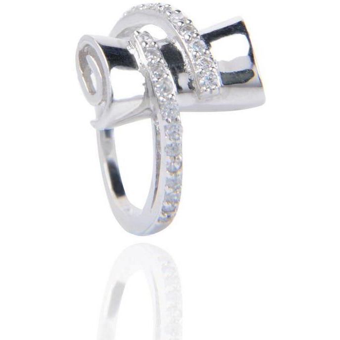 Attrative Solid Silver Plated Ring For Any Wear