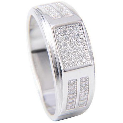925 Sterling Silver Casual Ring For Gents